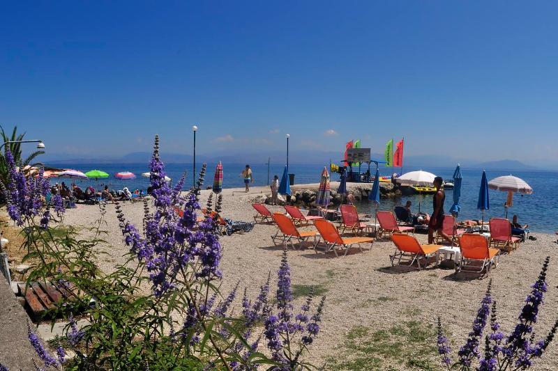 Benitses beach