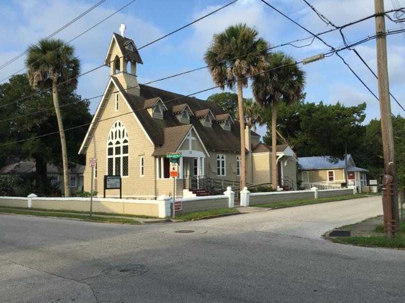 Historical episcopal church down the street. Lovely inside and out!