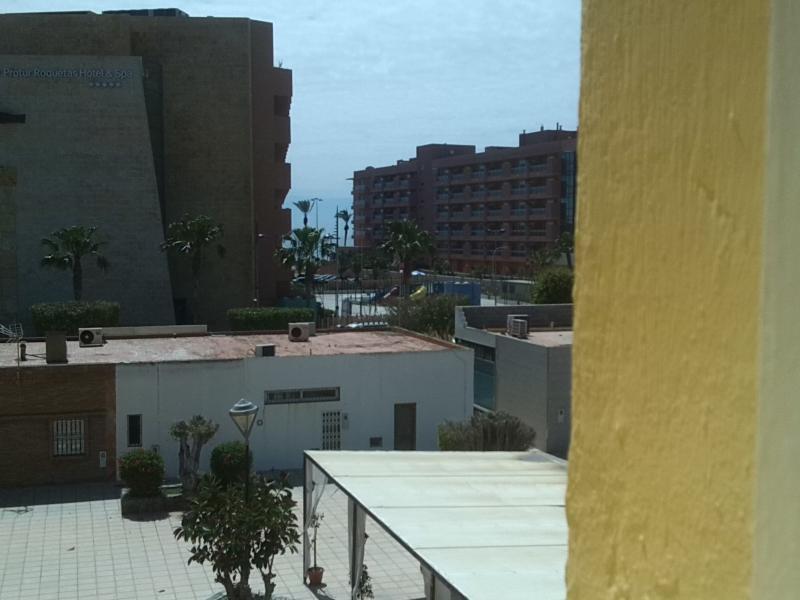 Vista desde el apartamento