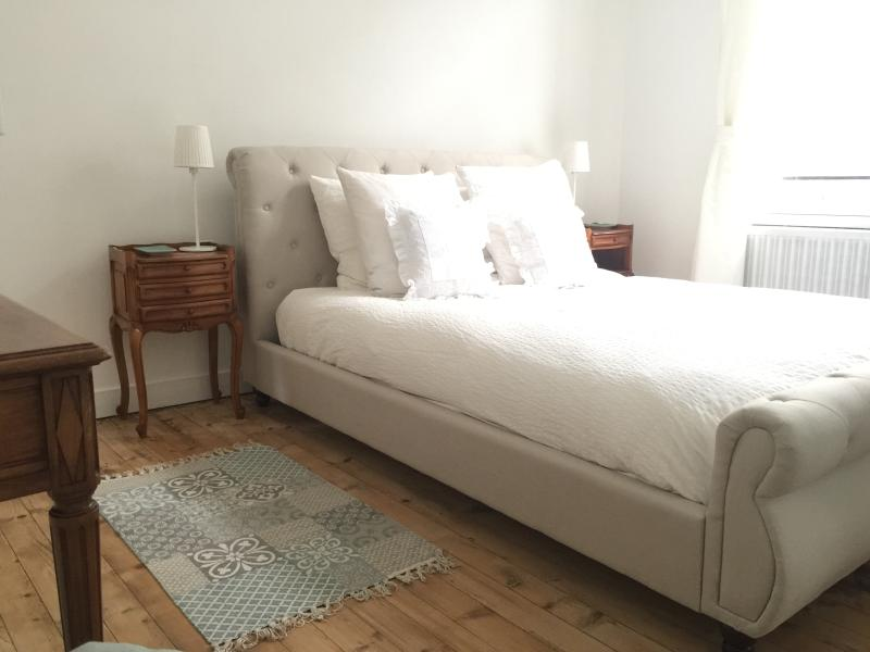 Bedroom.  Bed linen and towels included.