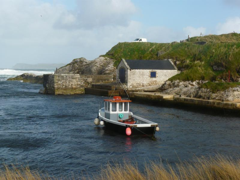Game of Thrones, Pike Harbour. Know to us as Ballintoy Harbour.