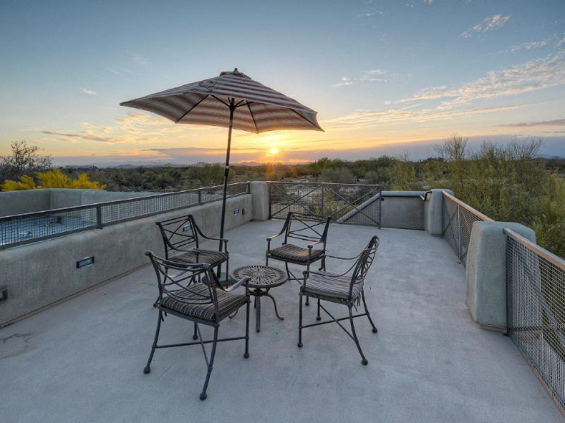 Observation Deck at Sunset