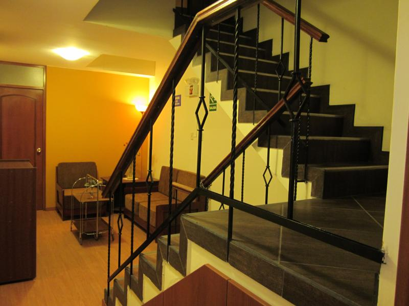 stairs to the laundry