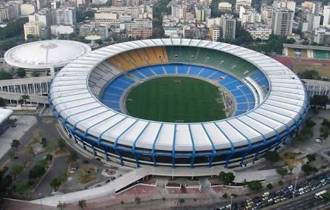 The Maracana stadium only 20 minutes by walk.
