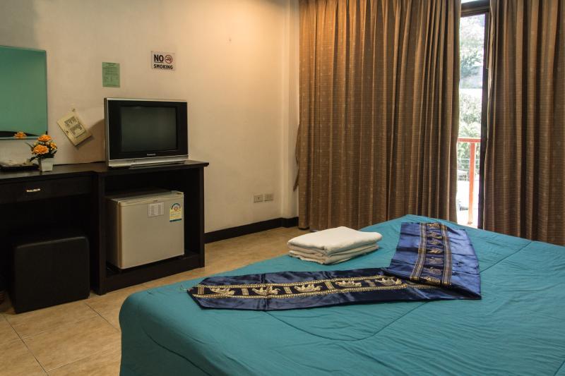 camera doppia superior con balcone privato