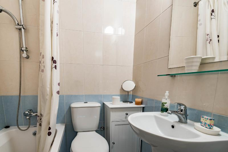 The Ensuite Bathroom in the Master Bedroom
