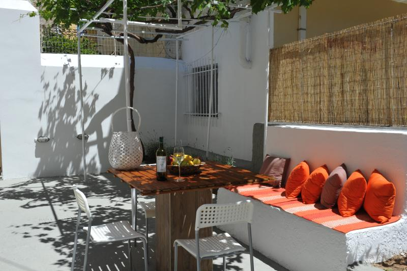 new summer house next to Kalymnos harbour