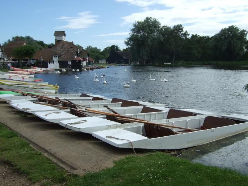 Boats on The Meare