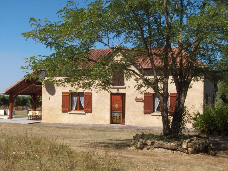 Gite with private pool, set in vinyards. Sleeps 12 in 5 bedrooms, 2 ensuite., holiday rental in Riscle