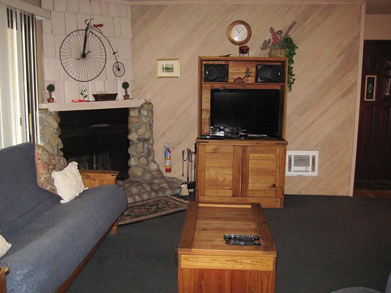 Salon TV à écran plat