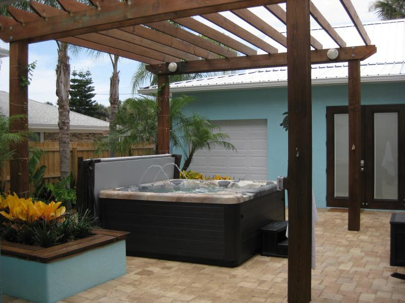 Courtyard Hot Tub