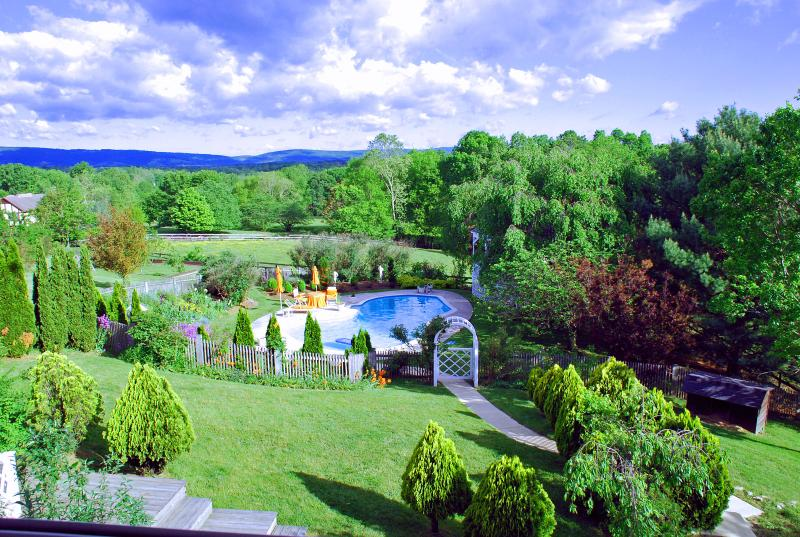 Monet Suite, elegnt lrg 2rm suite/blcny/jacuzzi in art villa n heart of Loudoun County wine country