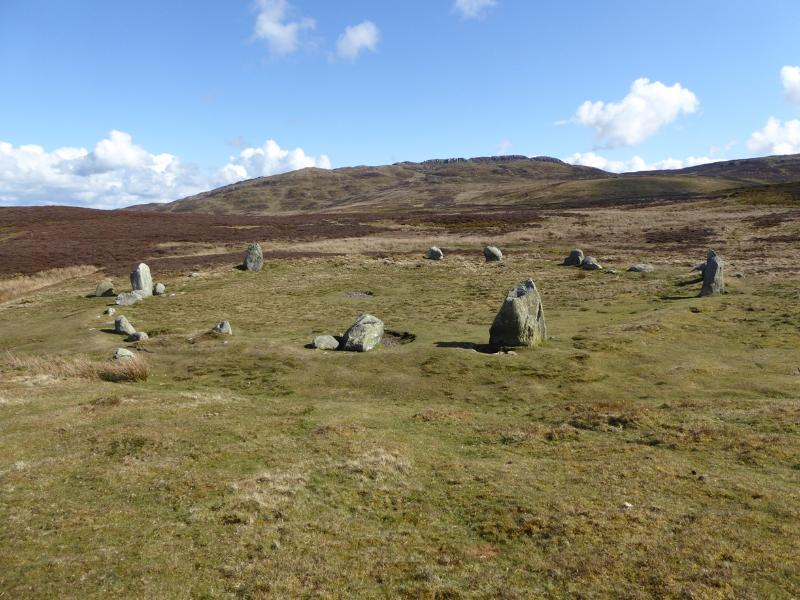 Druid's Circle, an easy walk directly from the cottage