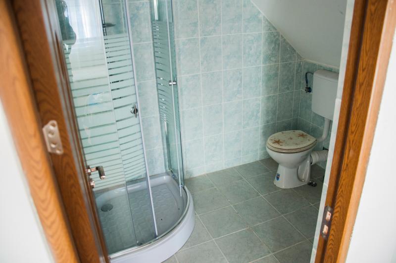 Uno dei bagni della struttura