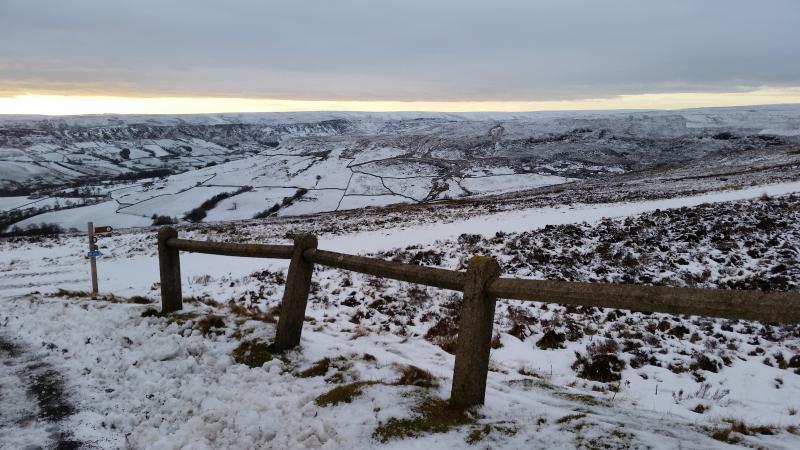 Yorkshire Moors 2 miles away
