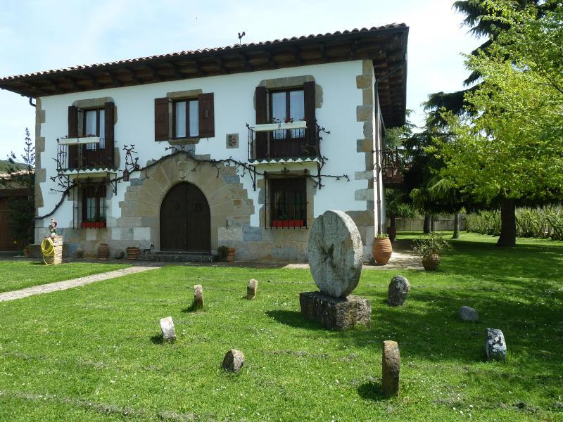 Mertxenea, location de vacances à Bizkarreta-Gerendiain