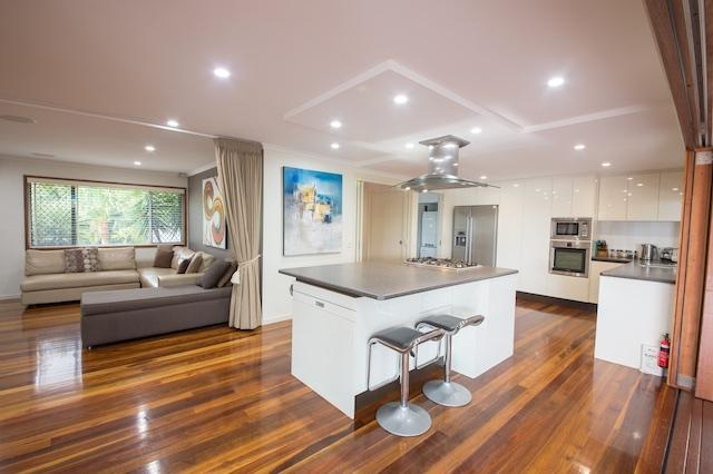 Kitchen Living Area with excellent turning circles for the wheelchair traveller.