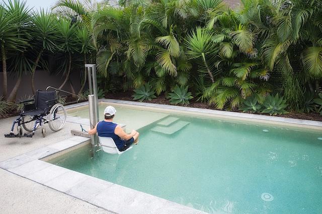 Personal Pool Lift.