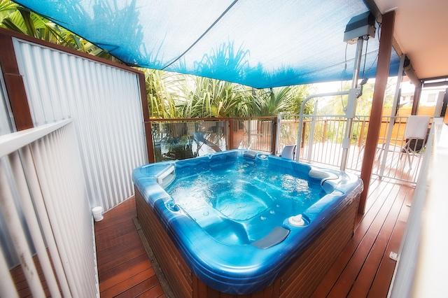 Imagine having a relaxing spa in your own private surroundings.