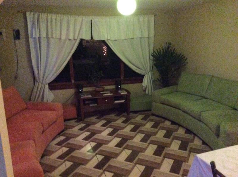 a large sala with very comfortable sofas...high speed internet works best here