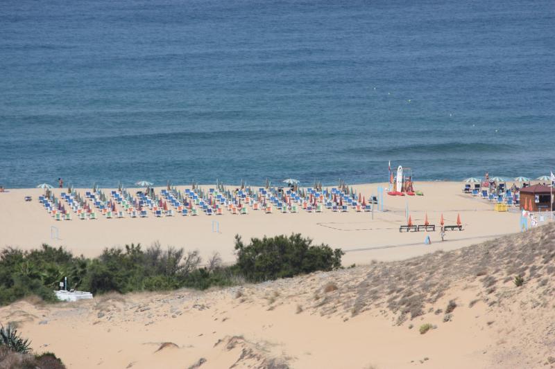 vista dalle dune