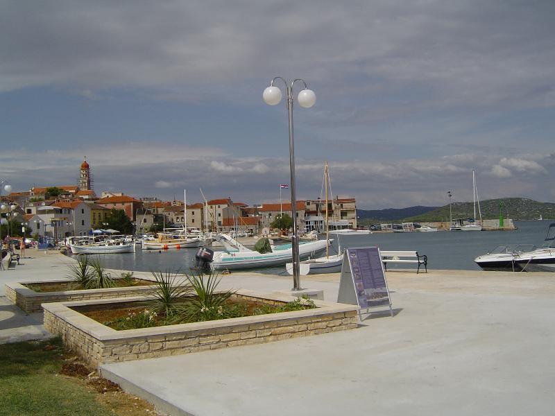 Seafront Apartment Betina Murter Croatia 2, vacation rental in Betina
