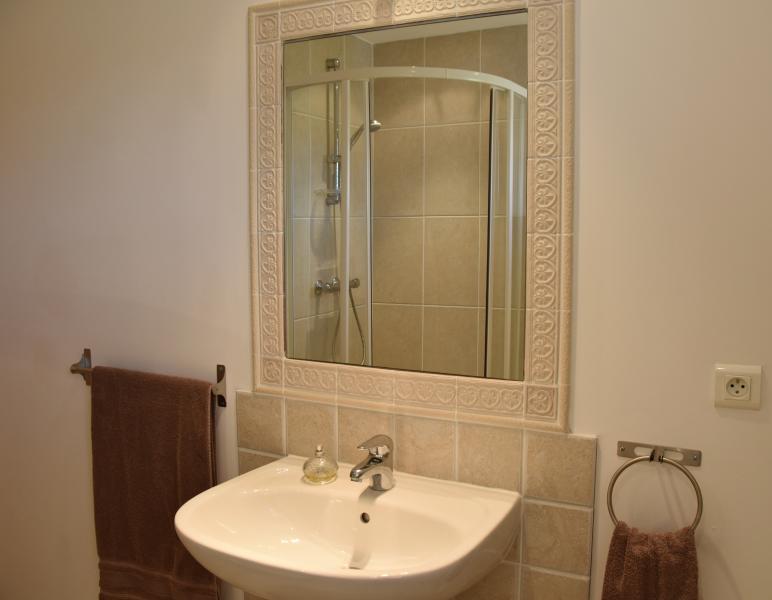 En suite shower room master bedroom.