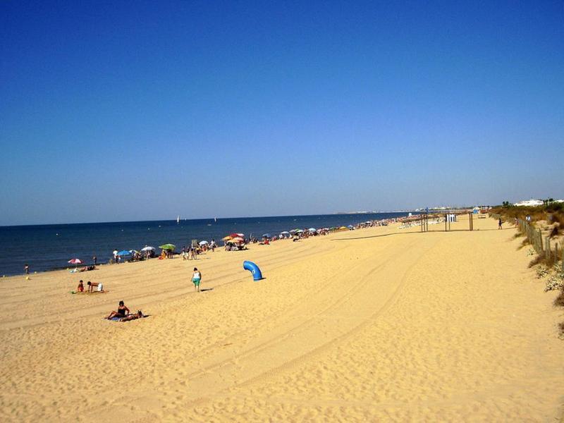 Tres kilómetros de playa