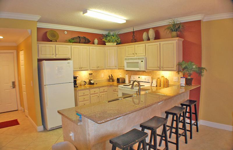 Granite counter top kitchen