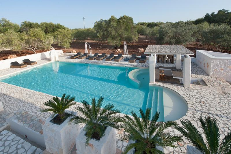 Pool from roof terrace