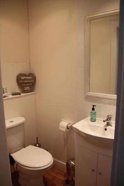 en-suite toilet and shower