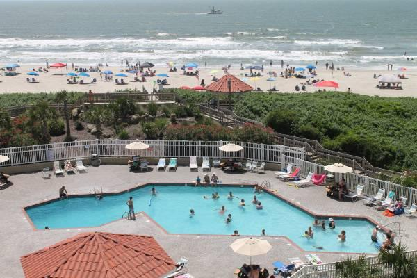 Great Ocean Pool View 2br 2 Bath Condo St Regis N Topsail Beach C