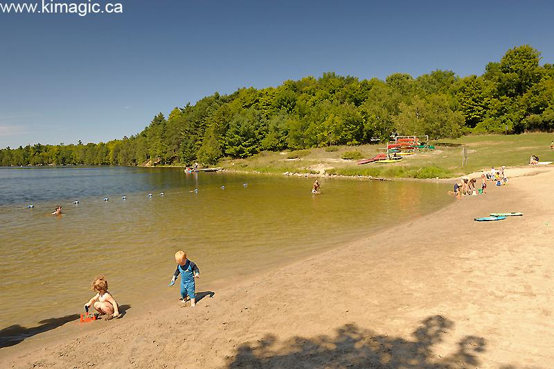 Murphy's Point Provincial Park - minutes by road or by canoe