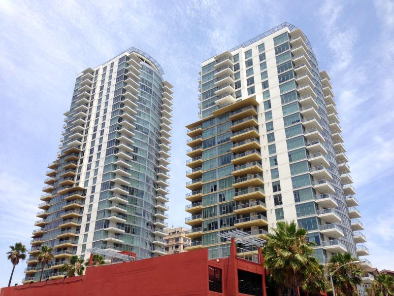You'll be staying in downtown Long Beach's newest luxury high-rise condo complex.
