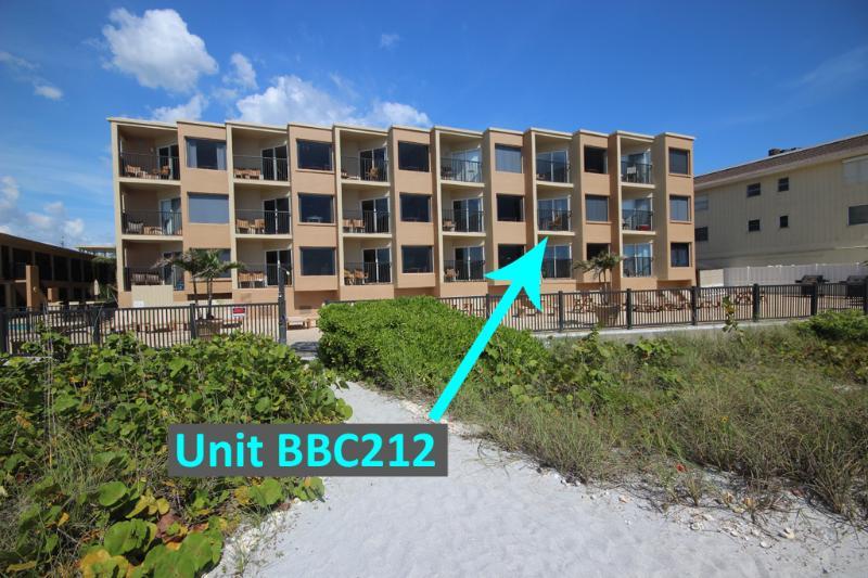 Foto Complexo da localização exata da unidade de 212 em Belleair Beach Club na Flórida