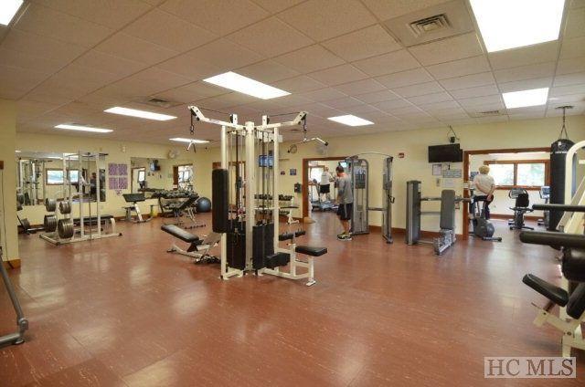 centro de fitness en el Sapphire Valley Resort.