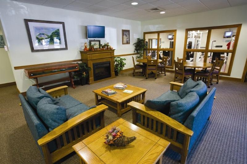 sala de estar Wi-Fi en el Sapphire Valley Resort.