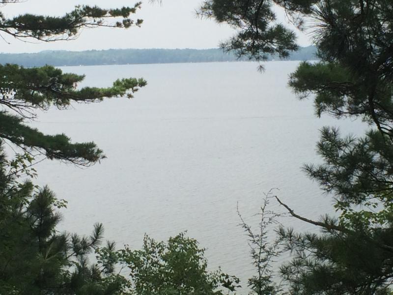 Beautiful views of Grindstone Lake