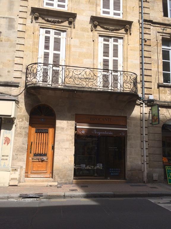 la facciata del palazzo del XVIII secolo