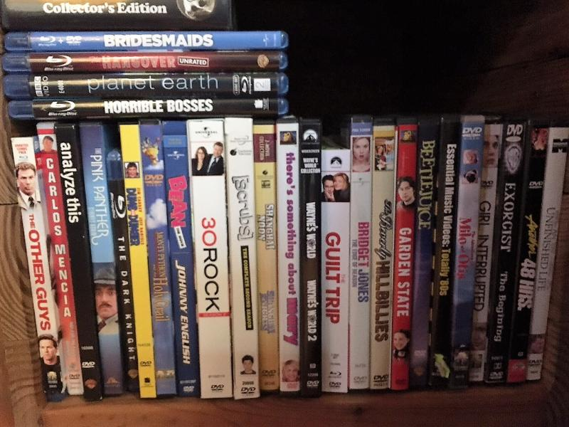 great selection of DVD's