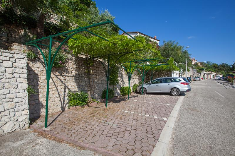 Secure parking for the guests of house Smokovic