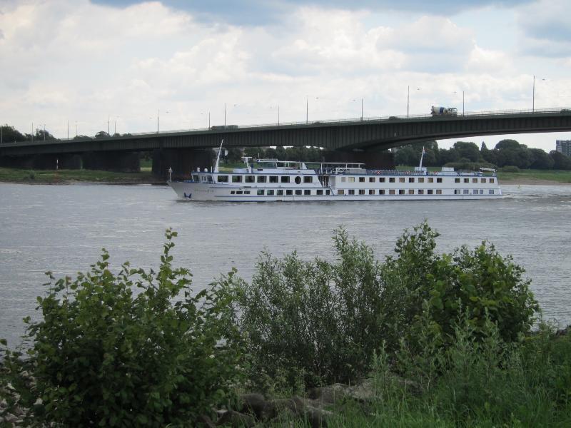 Blick auf den Rhein fussläufig zu erreichen