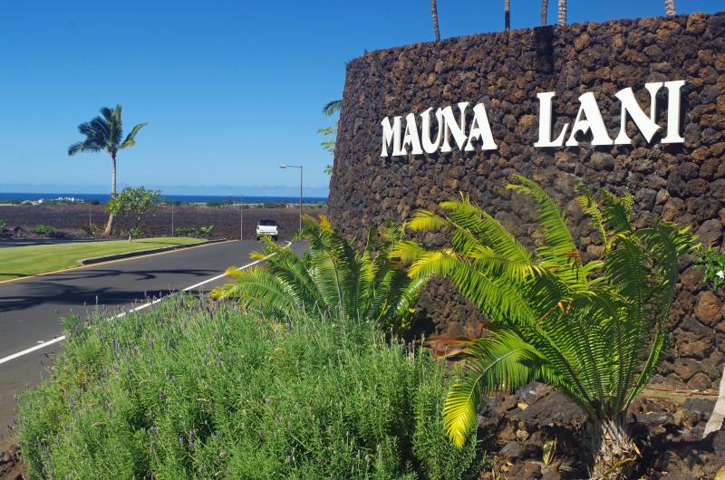 Mauna Lani Resort Entrance