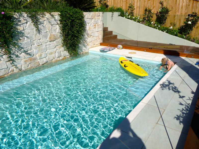 10 meter heated pool