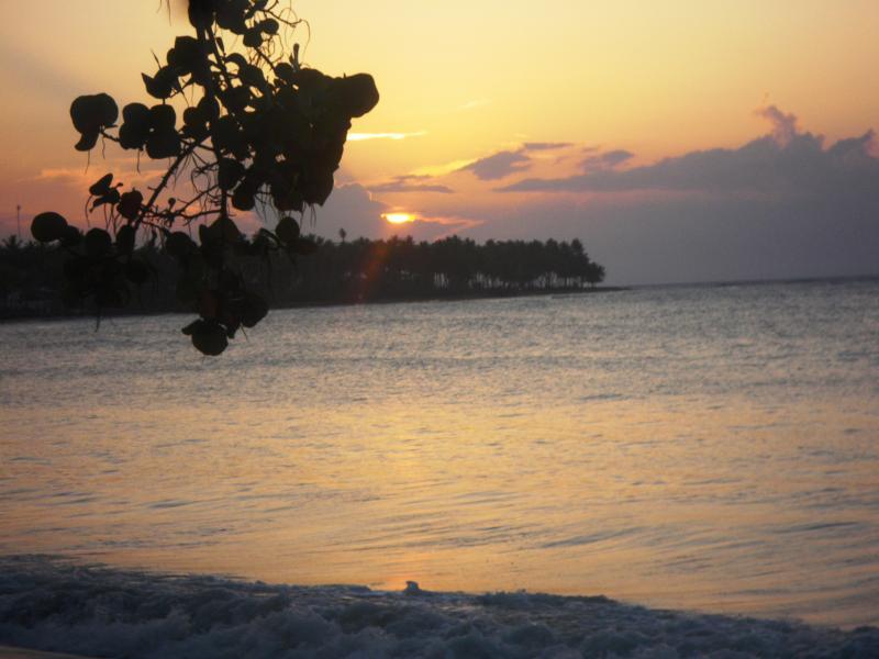 Sunset at playa bonita