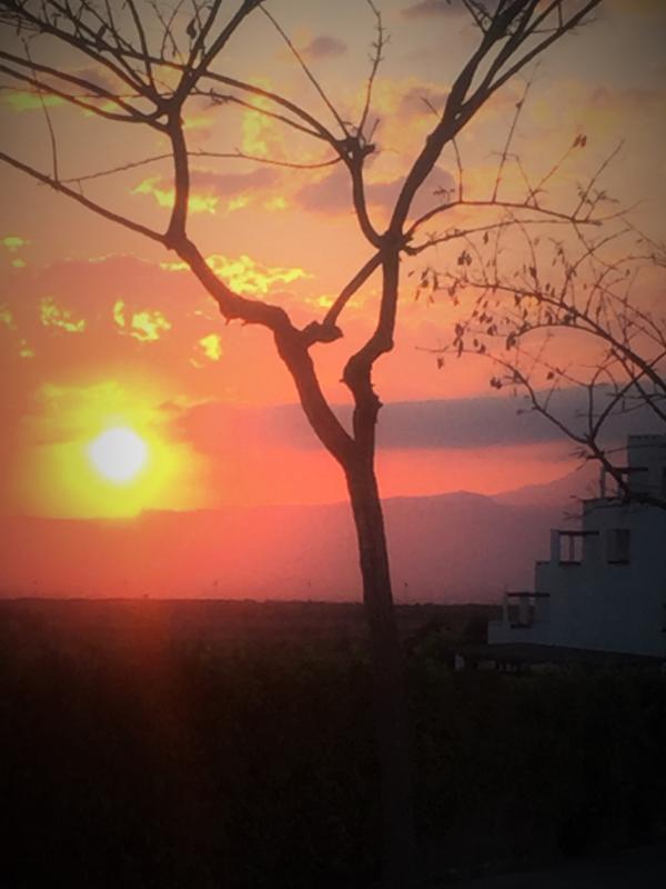 Sunset on Condado