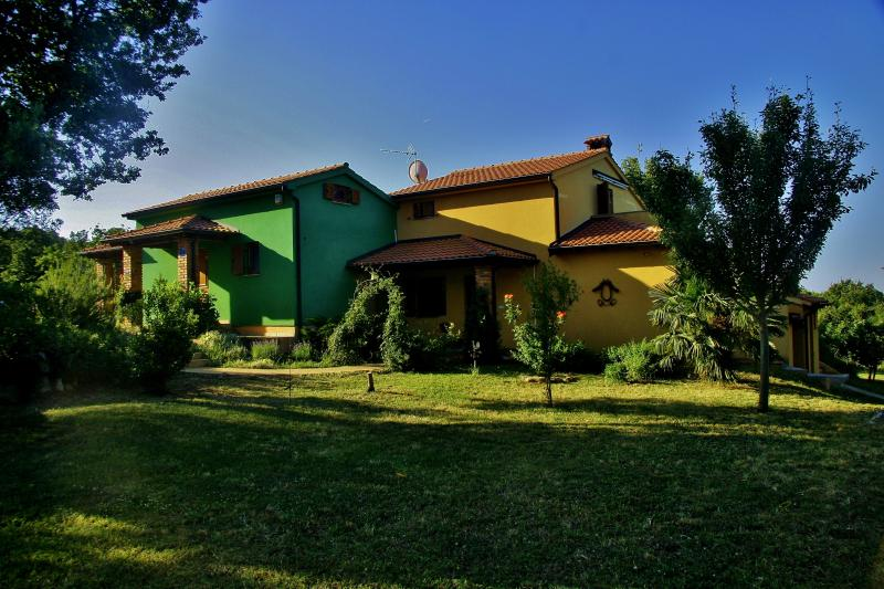 Croatia Rovinj Villa Aruba with Closed Meadow 2000 m2 and free parking, holiday rental in Rovinj
