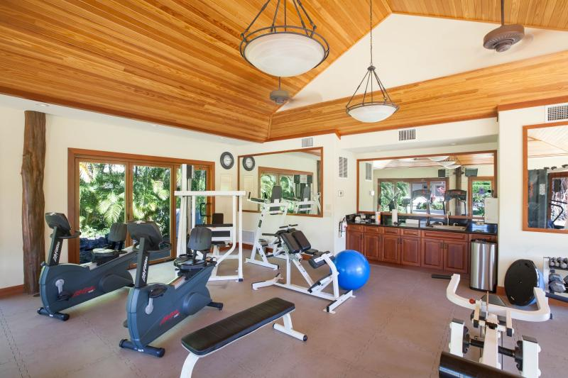 Villages fitness facility.