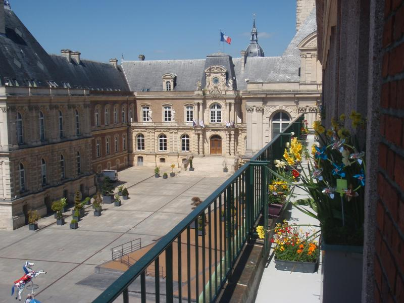 The town hall from our balcony.