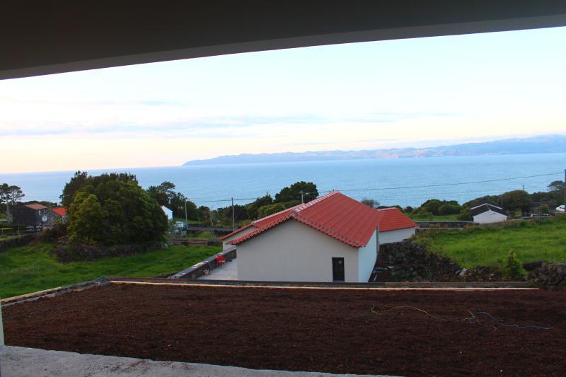 Vista do terraço-ainda em construção